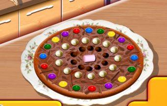 Kaip pagaminti šią šokoladinę picą, Jus išmokys pati Sara