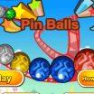 Žaidime sunaikink spalvotus kamuoliukus