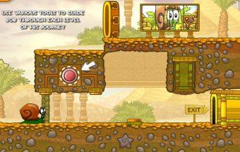 Žaiskite Sraigė Bobas 3, kuri atsidūrė Egipte