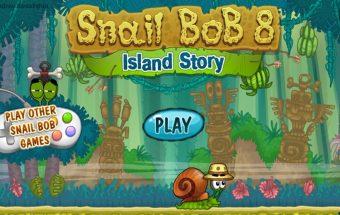 Sraigė Bobas arba žaidimas Snail Bob skirtas telefonuim ir plančetei