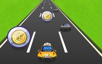Lengvas žaidimas apie Taksi mašinos vairavimą