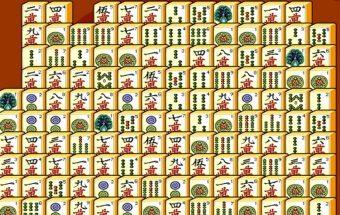 Mahjong - Sujunk Mahjong paveiksliukus taip kad šie susinaikintų. Loginis Mahjong kortelių žaidimas.