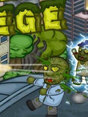 Zombių kovos ir naikinimo žaidimas