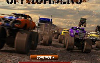 Automobilis monstras tai sunkvežimių lenktynių žaidimas