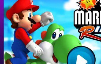 Nuotykių kupinas žaidimas su Super Mario. Super Mario bėgimas online.