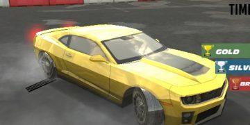 Lenktynės su turbo mašina - Driftas