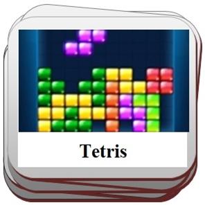 Tetris kaladėlės.
