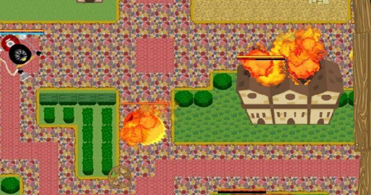 PC kompiuterio žaidimas - ugnies karas