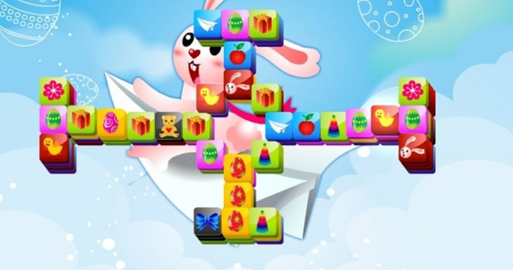 smagus, įdomus ir be galo spalvingas velykinis mahjong žaidimas yra skirtas visiems mažiems ir dideliems vaikams, mėgstantiems žaisti įvairius mahjong žaidimus. Šio nuotaikingo žaidimo tikslas: tarp daugybės skirtingų spalvų kaladėlių surasti po dvi vienodas ir jas kuo greičiau sunaikinti. Kuo daugiau kaladėlių sunaikinsite, tuo daugiau taškų gausite.