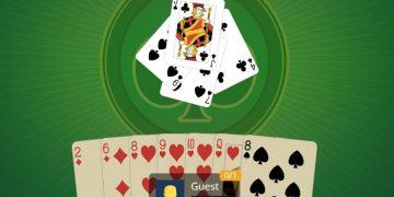 Kortų žaidimas VIP solitaire