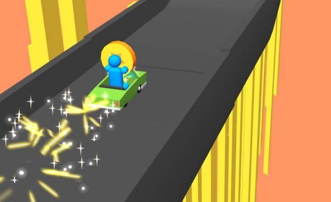 lenktynių ir vairavimo žaidimas.