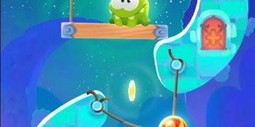 Cut the rope - Varlė ir siūlas magiška žaidimo versija, loginis žaidimas.