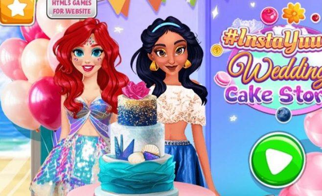 Žaidimai mergaitėms Torto gaminimas.