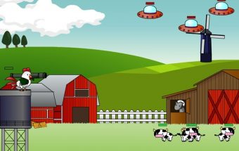 Apginkite karves nuo ateivių iš kitos planetos
