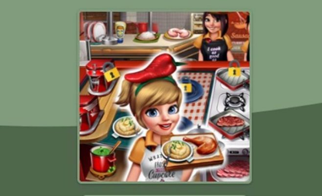 Maisto gaminimo ir restoranų žaidimas Virtuvės Šefė 4 dalis