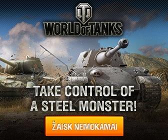 World of tanks lietuviškas žaidimas