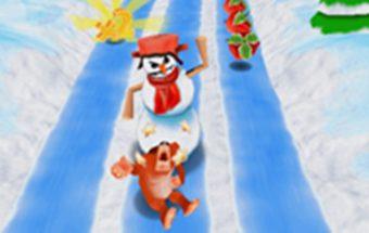 """Stipruolio """"Yeti"""" bėgimas per kliūtis. Tai žaidimas kuriame pilna nuotykių."""
