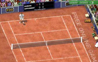 Teniso sporto žaidimas - Žalias tenisas dalyviams