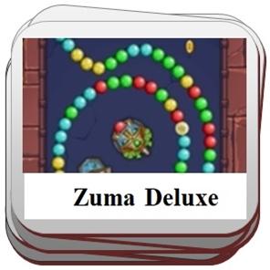 Zuma Deluxe pramogos.