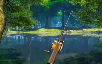 Linksma žvejyba miške. Kaip kimba miške