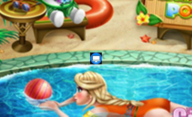Anos baseine - linksmas ir įtraukiantis mergaičių žaidimas.