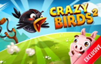 Nuotaikingas piktų paukščių puolimas internete - Angry Birds.