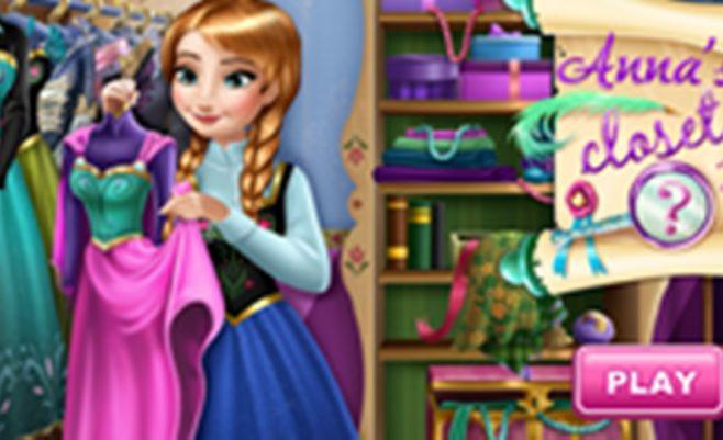 Anos drabužiai - tai linksmas žaidimas, skirtas visoms mergaitėms.