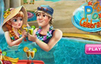 Anos šventė baseine, padėk Anai - mergaičių žaidimas, kuriame reikalinga tavo pagalba Anai.