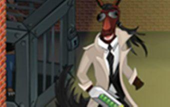 Žaidimas su detektyvais - Arklys detektyvas