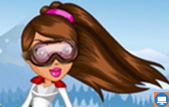 Bratz slidininkės aprangos stilius, kurį galite išrinkti Jūs.