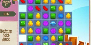 Loginis žaidimas Candy Crush Saga