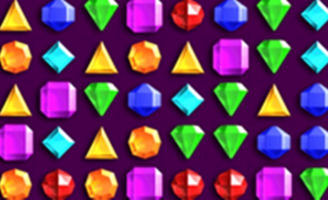 Sujunk 3 deimantus į eilę. Deimantus reikia sujungti taip, kad jie sudarytų liniją. Loginė užduotis kiekvienam.