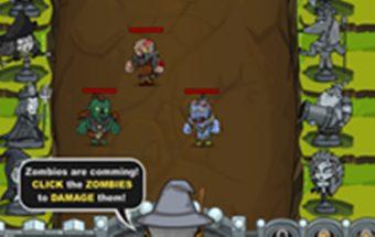 Strateginis žaidimas: Epinis karas iš Saga žaidimai serijos. Nugalėk demonus.