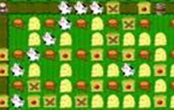 Žaidimas dviems apie Bomberman kuris vyksta fermoje.