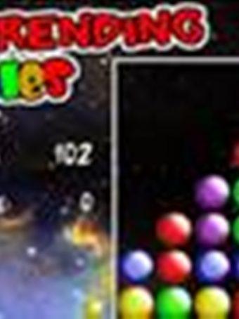 Žaidimas apie spalvotus burbuliukus - Galaktikos burbuliukai