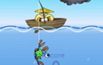 Greitas žvejyba ir panašaus laisvalaikio žaidimas vaikams