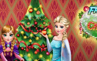 Šventų Kalėdų žaidimas, Eglutės puošimas - mergaitėms rekomenduojamas žaidimas.