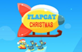 Šventų Kalėdų kelionė ir burbuliukai ir šaudymas į juos. Kalėdų katinas juda rogėmis.