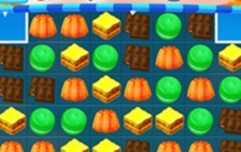 Sujunk 3 ir dar daug daugiau saldainių loginiame žaidime.