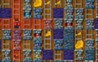 Bombų žaidimas vaikams apie Kasyklų bombas - Bomberman.