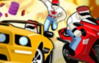 Vairuok motociklą ar mašiną