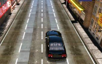 Lenktynės mieste - Žaidimas Nitro automobilis. Lenktyniauk su mašina mieste.