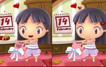 Valentino dienos žaidimas apie skirtumus