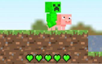 Žaidimas Minecraft kovotojas. Minecraft planuoja mūšį ir ruošiasi kovai.