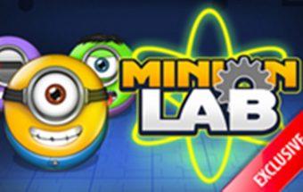 Minio herojus - loginis Minion ėjimas ir užduotis pamąstymui.