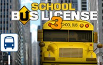 Mokyklos autobusas 3, vairavimo žaidimas skirtas visiems vaikams.