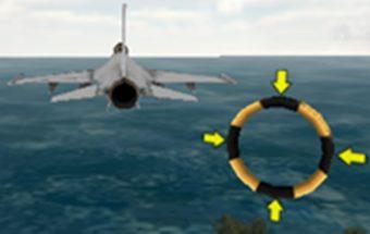 Žaidimas su Naikintuvais - F-16 lėktuvų lenktynės nemokamai.