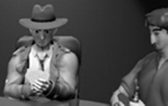 Detektyvas - Nespalvotas žaidimas