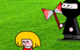 Žaidimas vaikams apie puikų kovotoją nindzę.