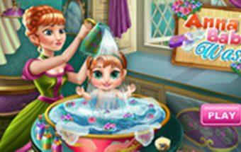 Padėk Anai pasirūpinti vaiku - tai linksmas mergaičių žaidimas.
